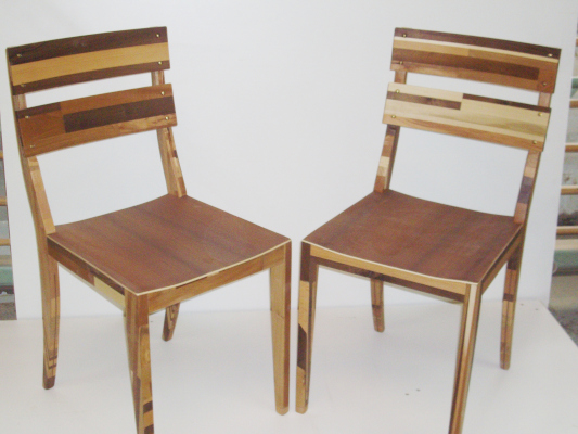 Restholzmöbel Stühle